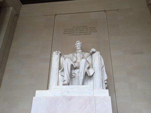 リンカーン像