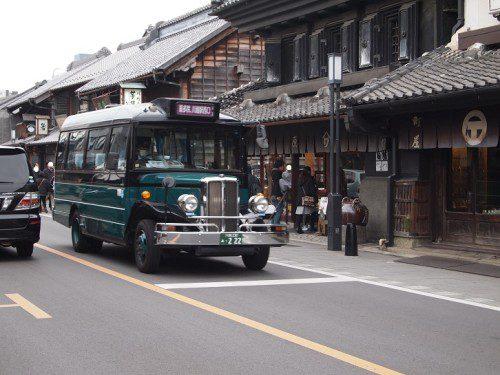 川越のバス