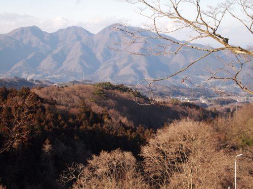 伊香保温泉から見える山