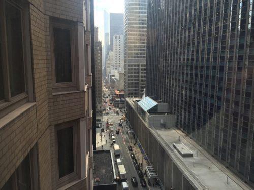 The London部屋からの眺め