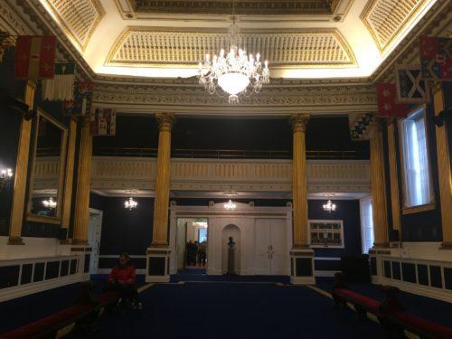 ダブリン城セイントパトリックスホール