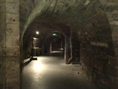 クライストチャーチ大聖堂地下室