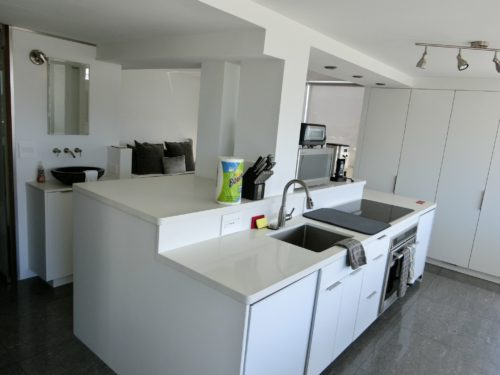 Airbnbキッチン